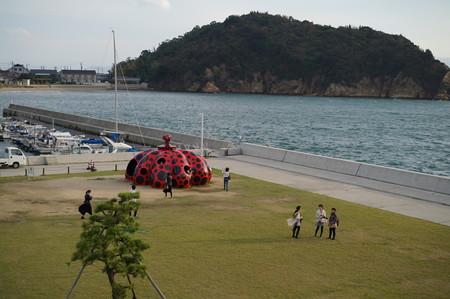 直島の絶景を