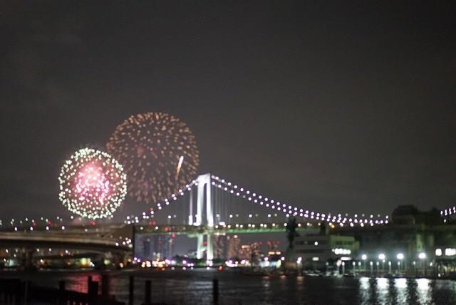 今年で最後? の 東京湾花火大会