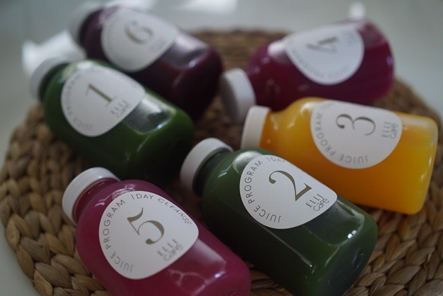 ELLE CAFE 1DAY CLEANSE ジュースクレンズ