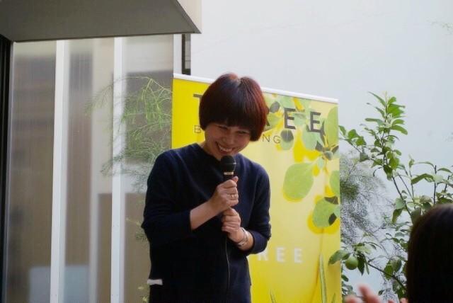 THREE青山 2周年イベント