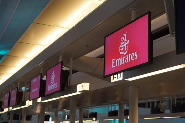 Emirates で魅惑の国、ドバイへ