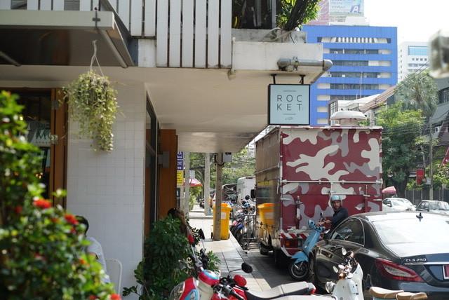 【バンコク2016】 おしゃれ1軒屋カフェ ROCKET coffeebar