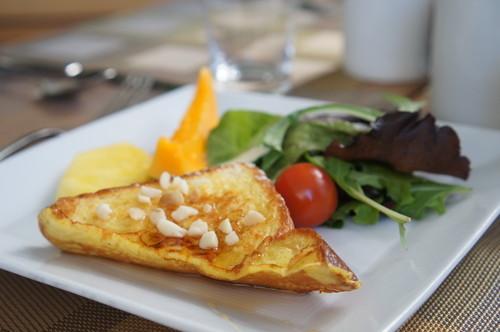 ハワイ トランプタワー 朝食 4