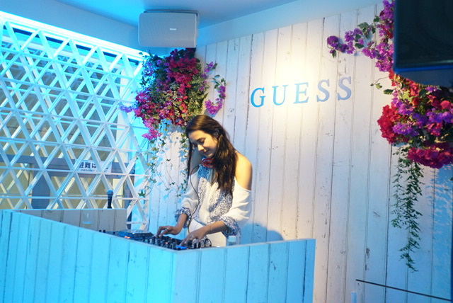 【PARTY】GUESS SHIBUYA FLAGSHIP STORE OPENING(2016年4月29日OPEN)