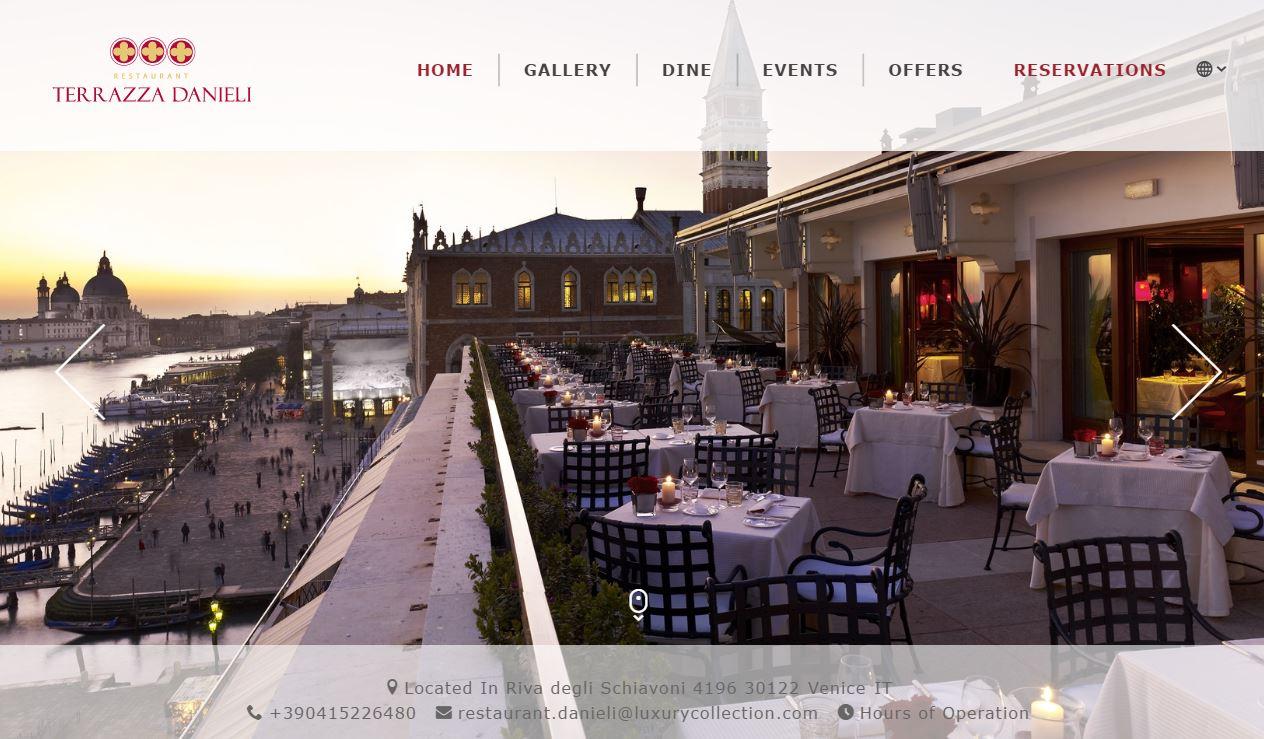 【ミラノ・ベネチア旅】07.世界中のお金持ちが集合『Restaurant Terrazza Danieli(ダニエリ)』{ベネチア・本島}