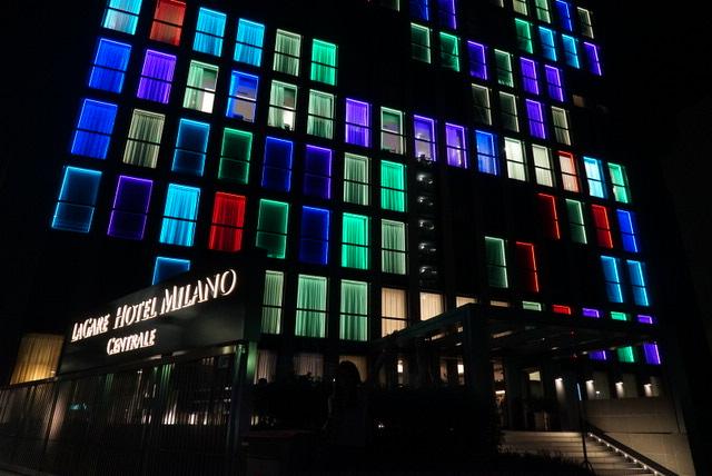 【ミラノ・ベネチア旅】03.LAGARE HOTEL MILANO CENTRALE MGALLERY BY SOFITEL{ミラノ}