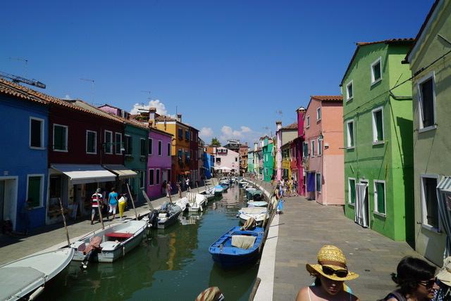 【ミラノ・ベネチア旅】10.カラフルなおうちがアイコン『ブラーノ島(Burano) 観光