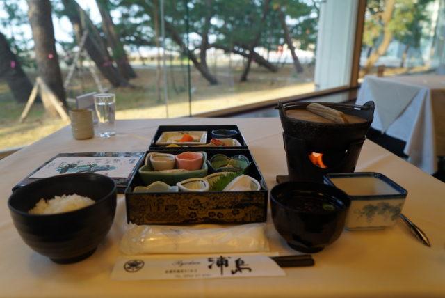 佐渡 浦島 朝食