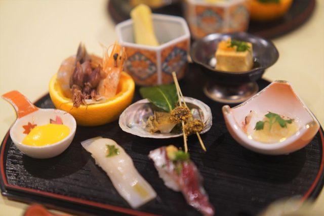 佐渡 浦島 夕食