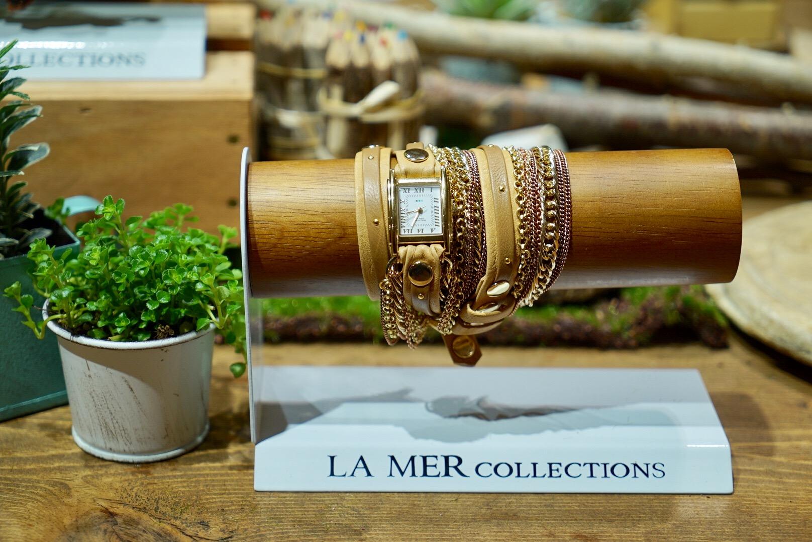 手元のオシャレはこれでOK!「LA MER COLLECTIONS」の腕時計