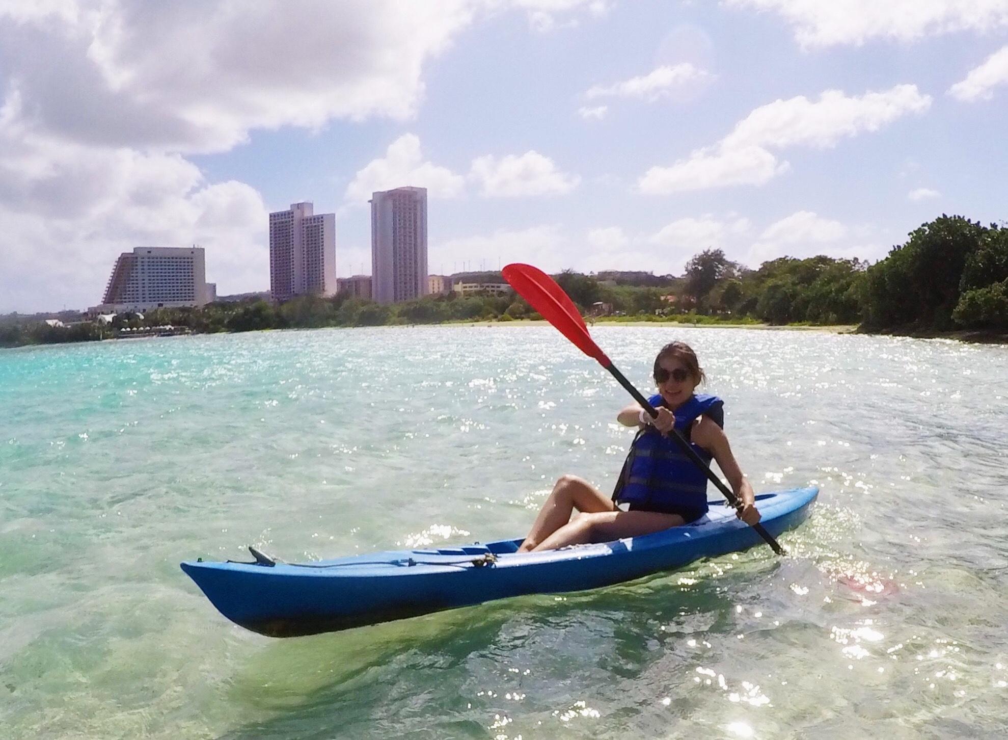 1日中遊べるマリンアクティビティもヒルトン グアム ホテル リゾート&スパ セミプライベートビーチで満喫!