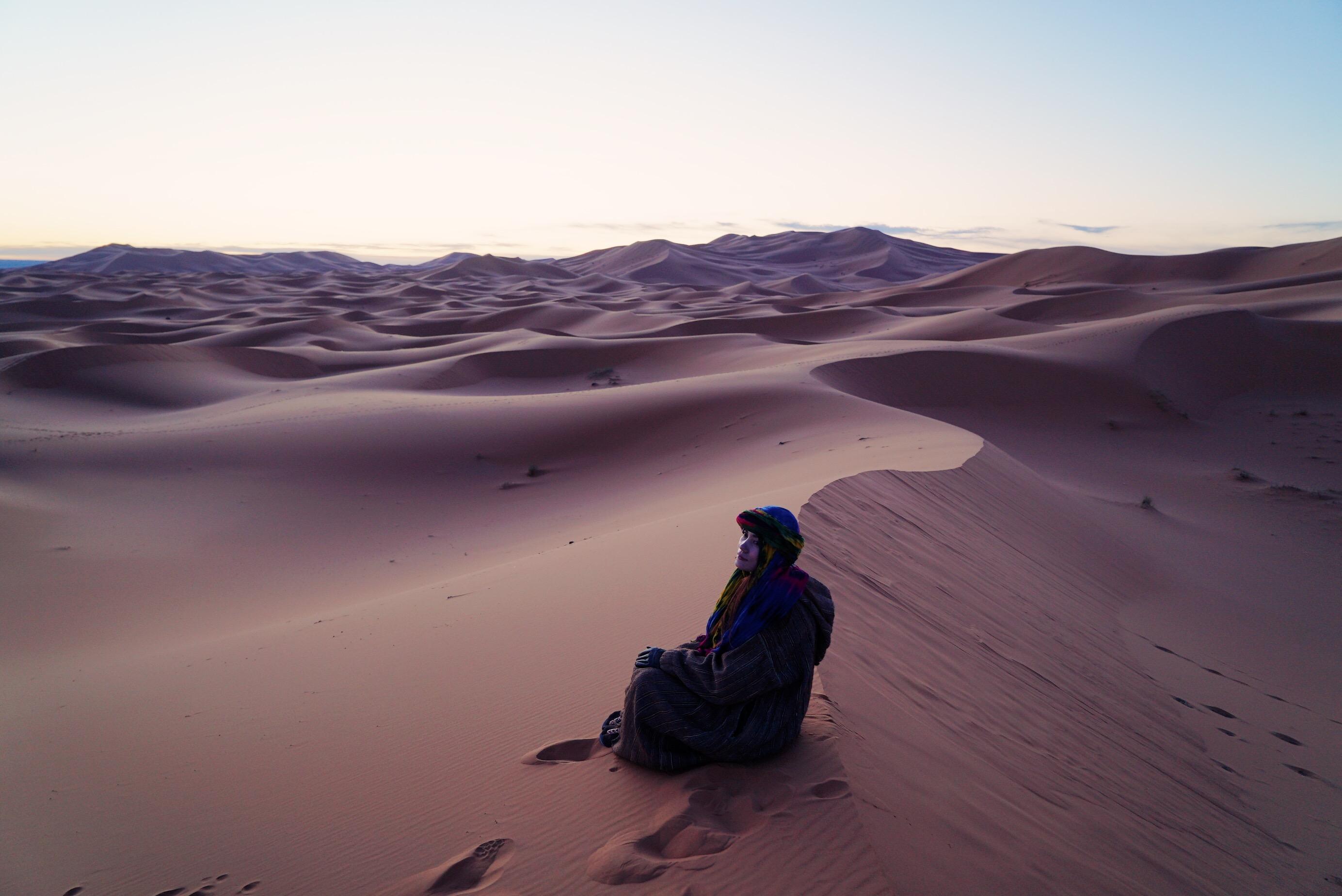 北アフリカ モロッコ旅 「サハラ砂漠」