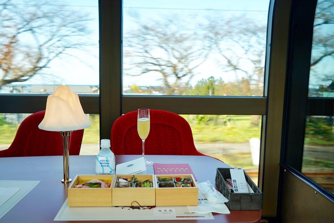 新しい旅のスタイル、リゾート列車「雪月花」に乗ってきました。